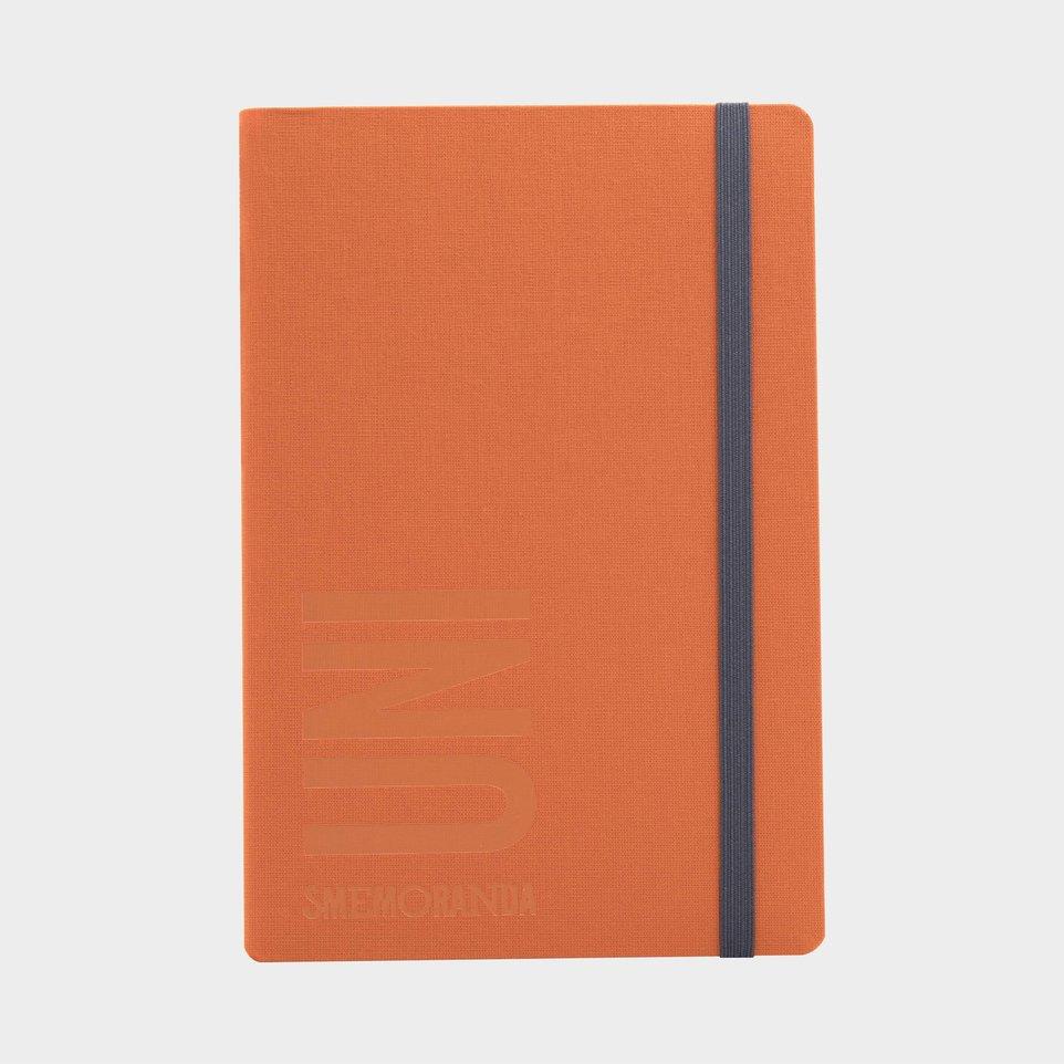 Uni Smemoranda 2021 Cm 12,5x18,5 Sett Arancione