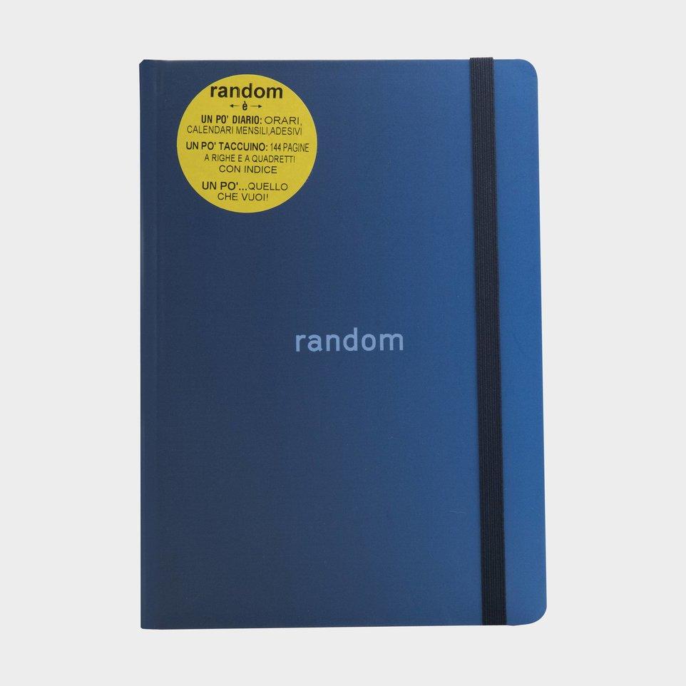 Random 2020-2021 Diario Taccuino Blu