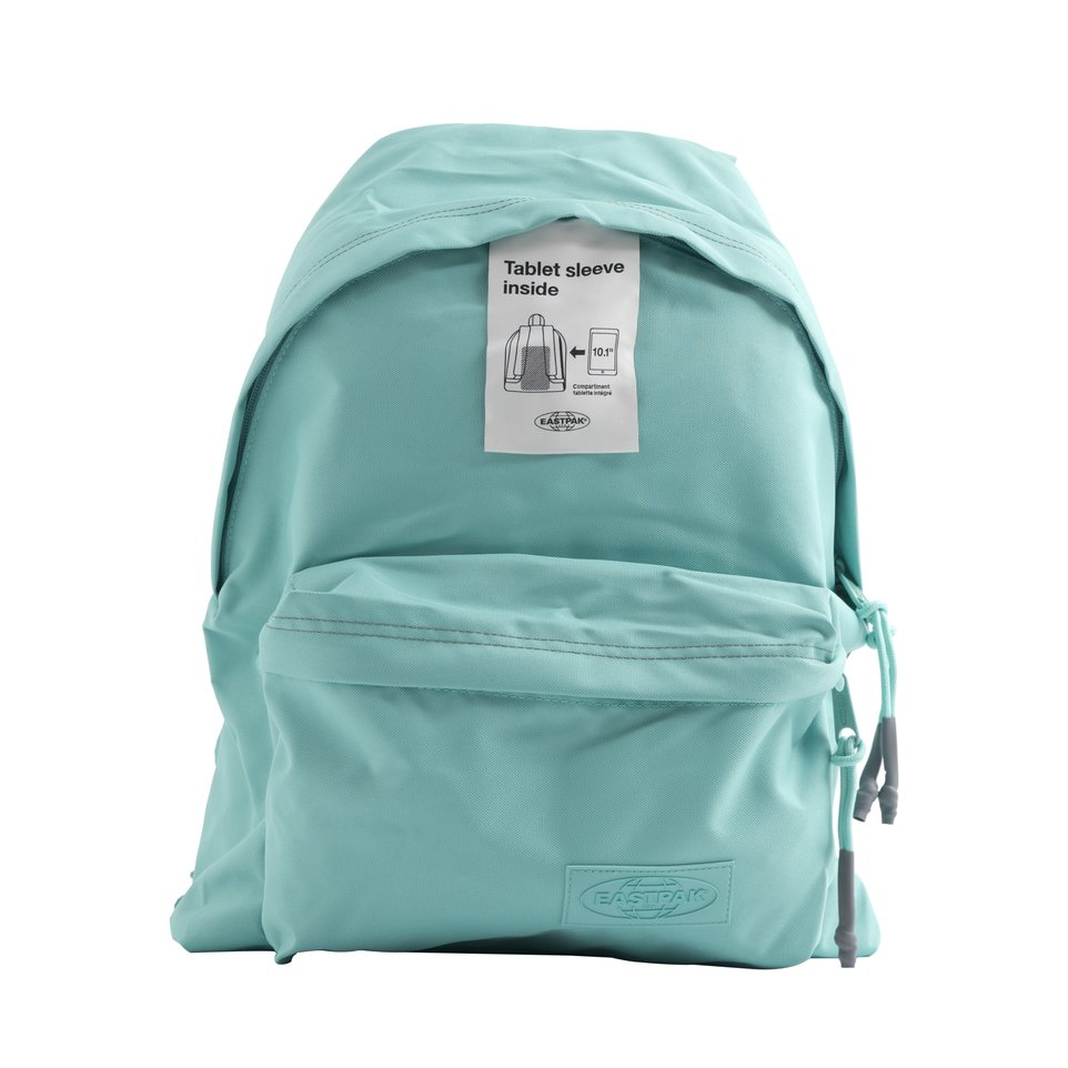 Zaino un comparto turchese con tasca porta pc/tablet  Smemo Eastpak