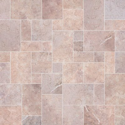 Flamingo Sawn Natural Travertine Paving (Mixed Size Pack)