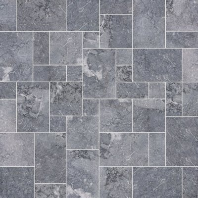 Fume Sawn Natural Marble Paving (Mixed Size Pack)