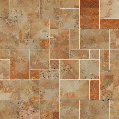 Caribbean Sawn Natural Travertine Tiles (Mixed Size Pack)