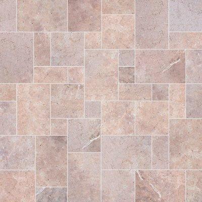 Flamingo Sawn Natural Travertine Tiles (Mixed Size Pack)