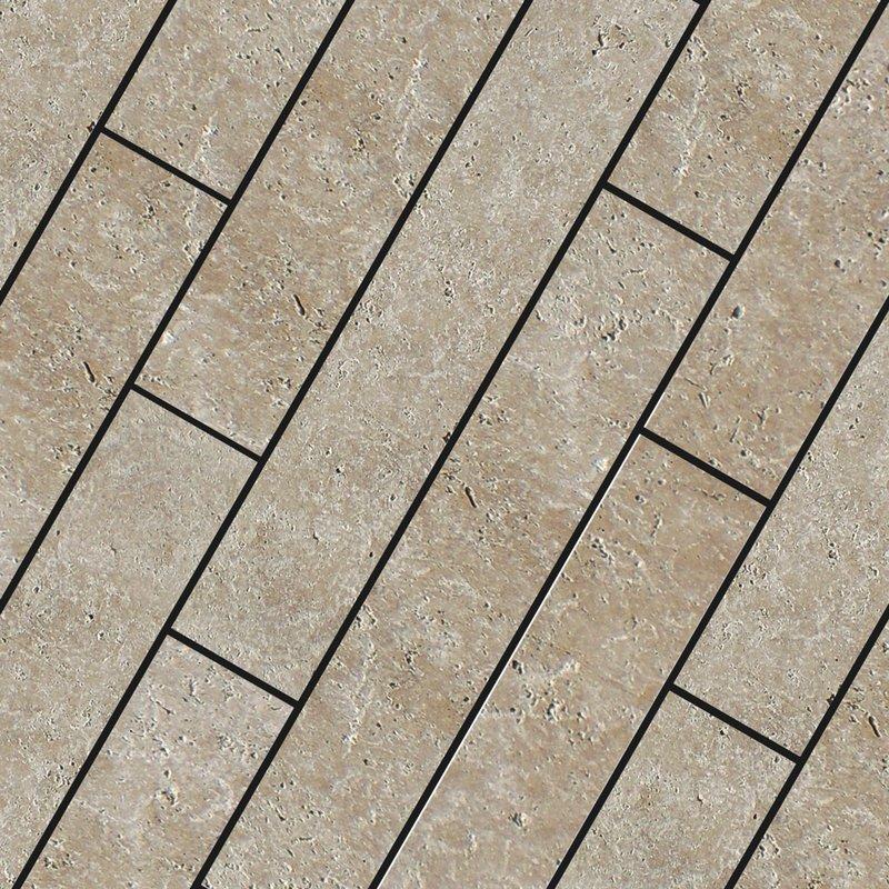 Classic Light Sawn Natural Travertine Planks (900x150 Packs) - Classic Light