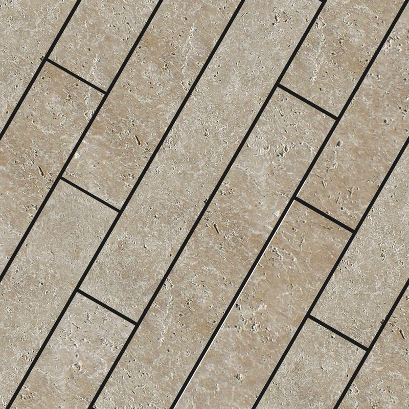 Classic Light Sawn Natural Travertine Planks (900x150 Packs) - Classic Light