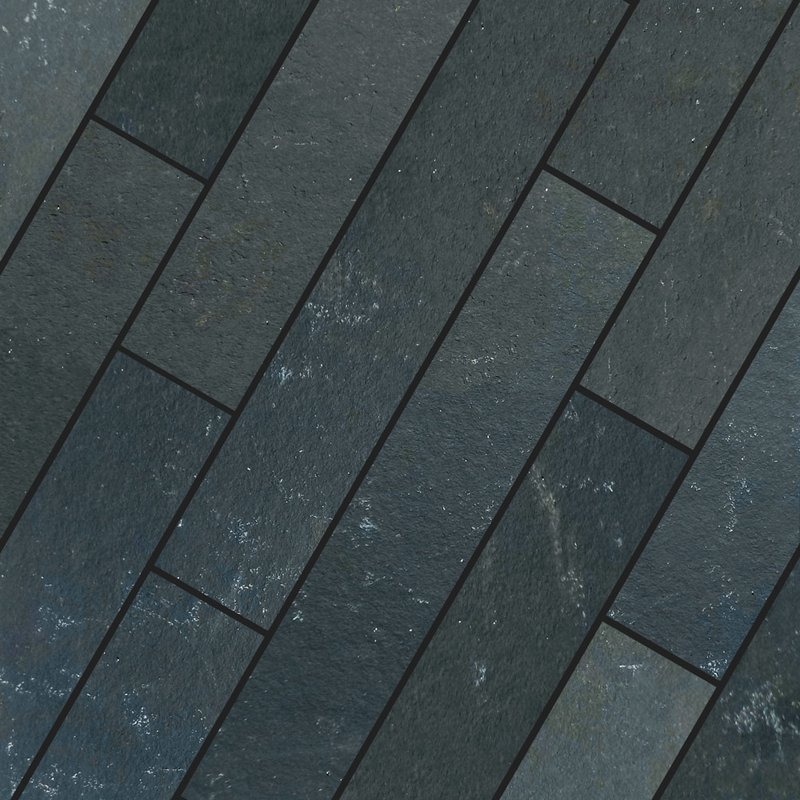 Kota Black Sawn Natural Limestone Planks - Kota Black