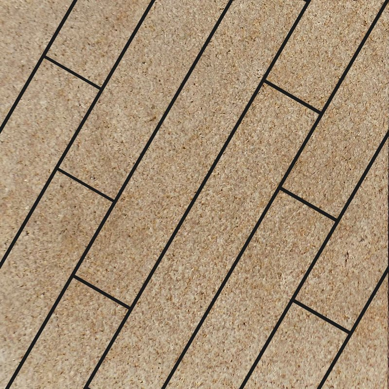 Yellow Sawn Natural Granite Planks - Yellow