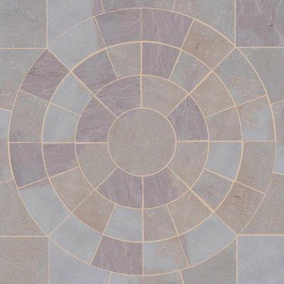 Ravina Hand Cut Natural Sandstone Circles