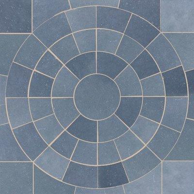 Kota Blue Hand Cut Natural Limestone Circles