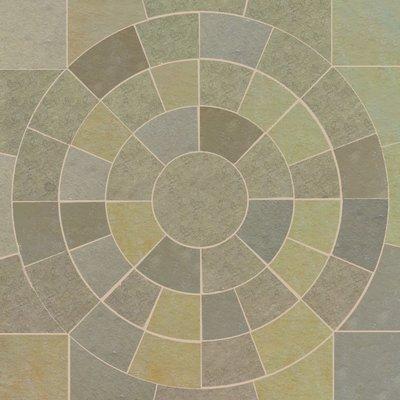 Kota Yellow Hand Cut Natural Limestone Circles
