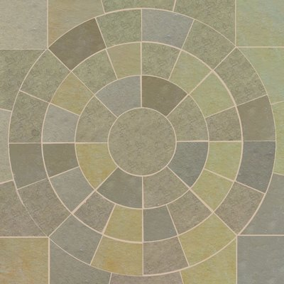 Kota Yellow Hand Cut Natural Limestone Circles