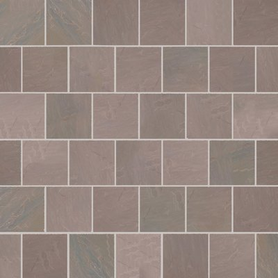 Autumn Brown Hand Cut Natural Sandstone Paving (560x560 Packs)