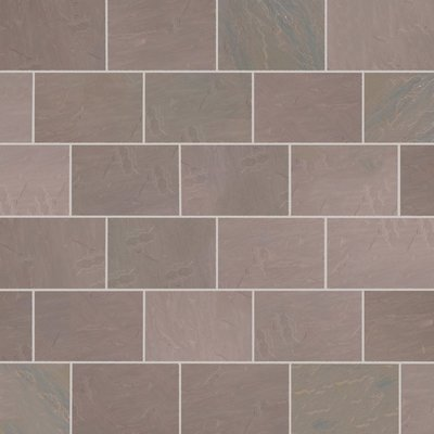 Autumn Brown Hand Cut Natural Sandstone Paving (840x560 Packs)