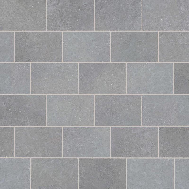 Kandala Grey Hand Cut Natural Sandstone Paving (900x600 Packs) - Kandala Grey