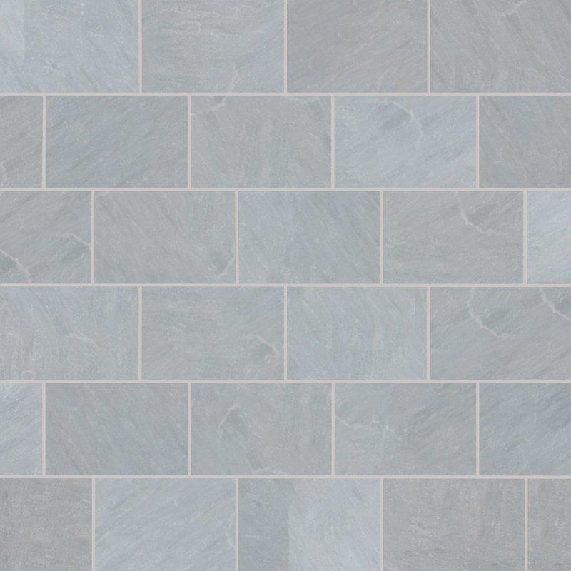 Kandala Grey Tumbled Natural Sandstone Paving (900x600 Packs) - Kandala Grey