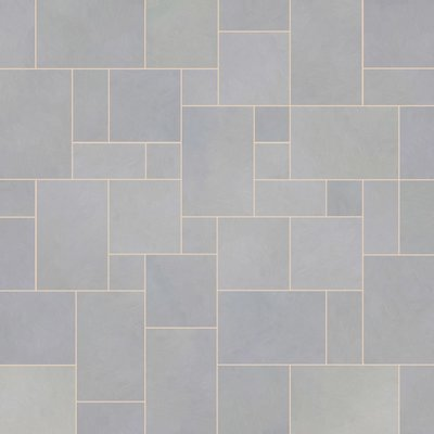 Kandala Grey Sawn Natural Sandstone Paving (Mixed Size Packs)