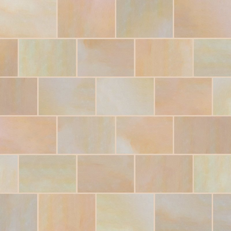 Buff Sawn Natural Sandstone Paving (900x600 Packs) - Buff