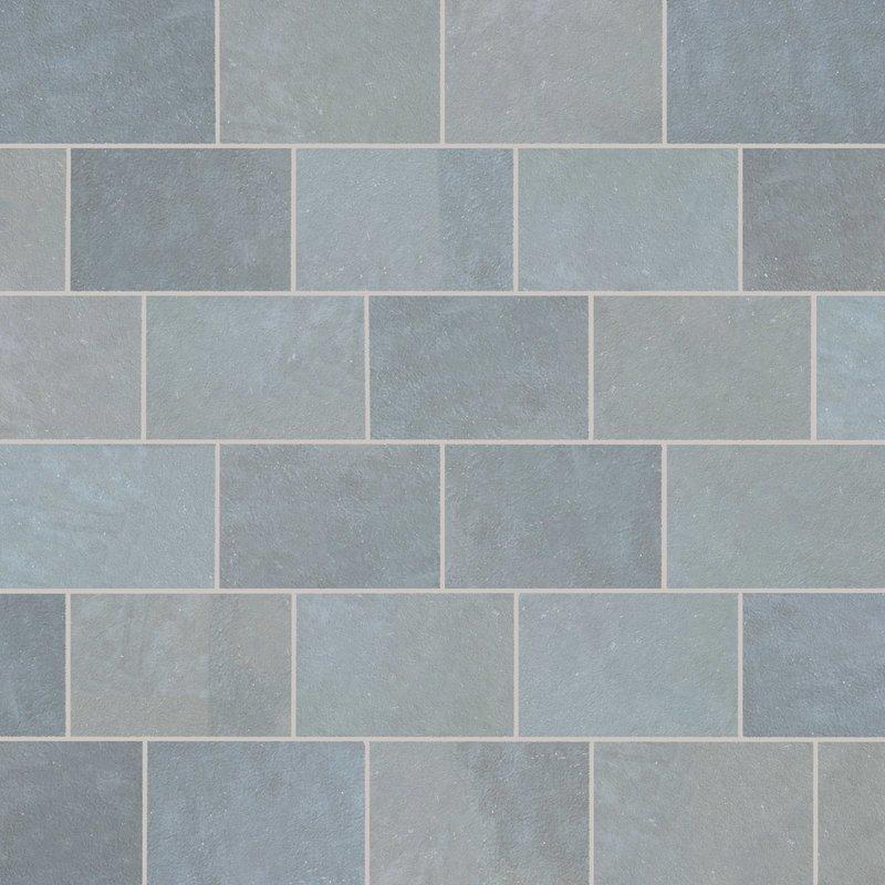 Kota Blue Hand Cut Natural Limestone Paving (900x600 Packs) - Kota Blue