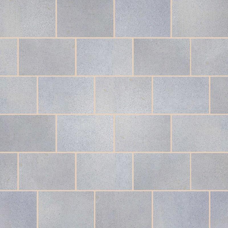 Light Grey Sawn Natural Granite Paving (900x600 Packs) - Light Grey
