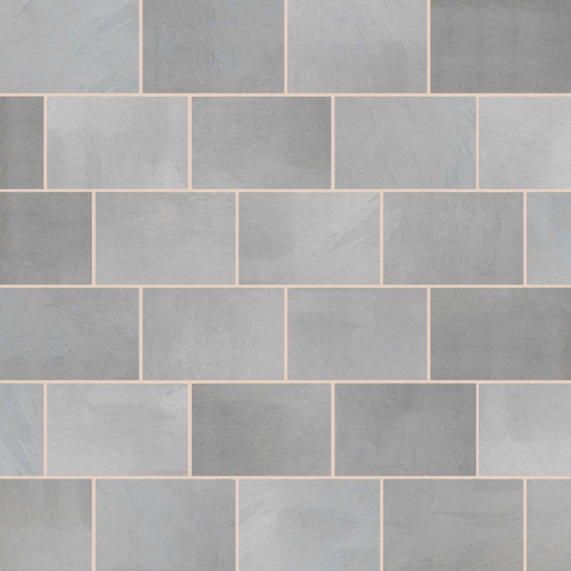 Brazilian Grey Sawn Natural Slate Paving (900x600 Packs) - Brazilian Grey