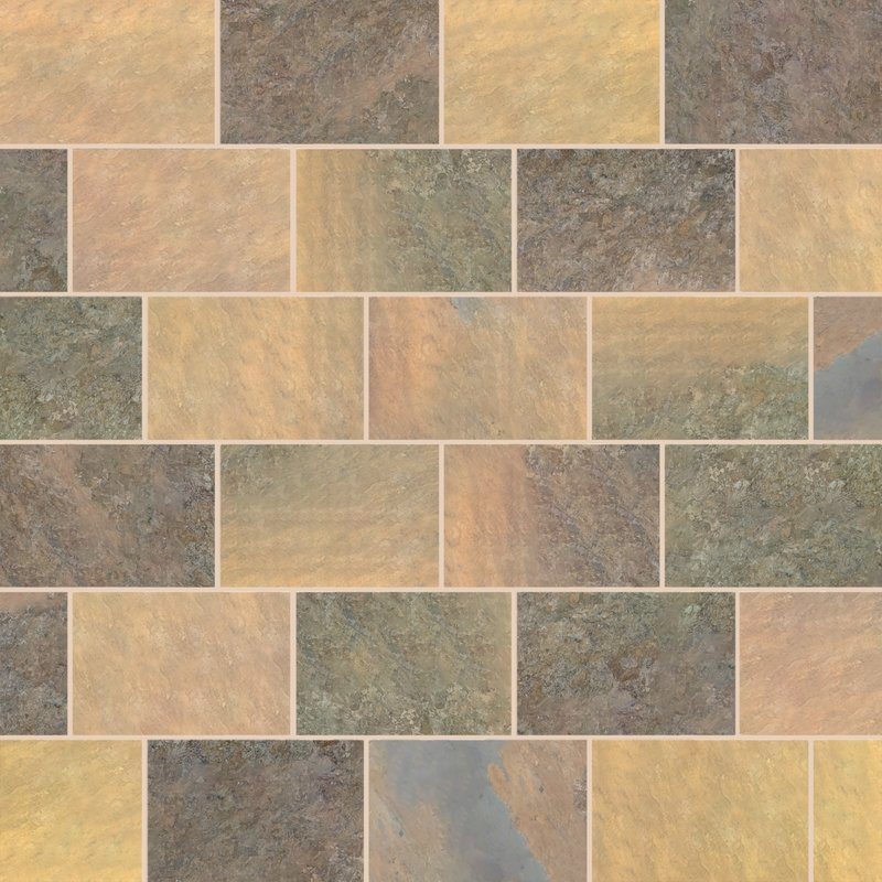 Indian Rusty Sawn Natural Slate Paving (900x600 Packs) - Indian Rusty