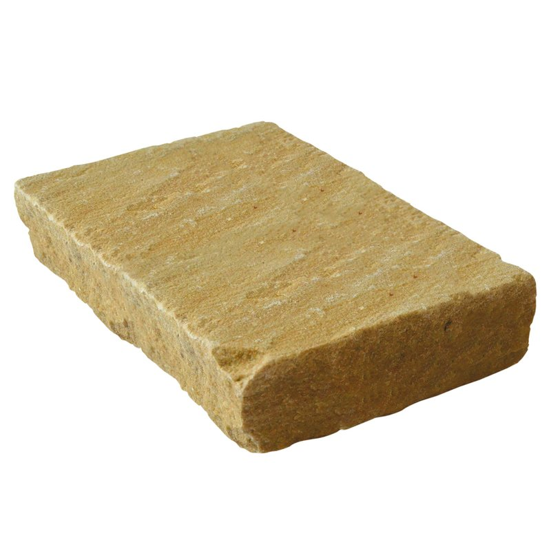 Modak Hand Cut Natural Sandstone Setts (135x225 Size) - Modak