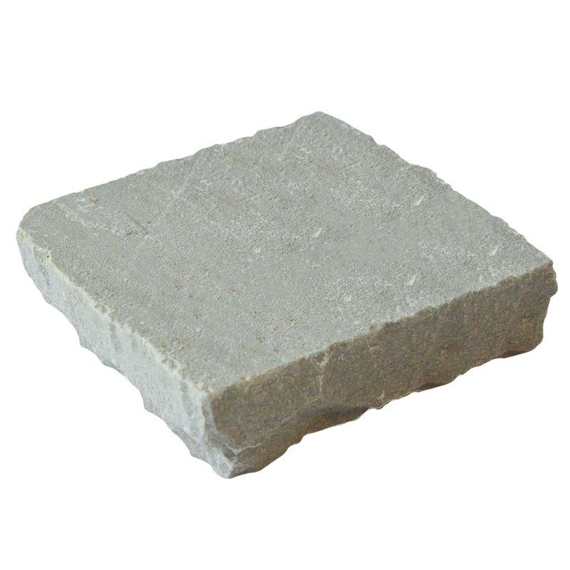 Kandala Grey Hand Cut Natural Sandstone Setts (135x135 Size) - Kandala Grey