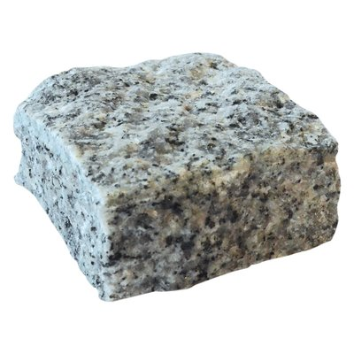 Light Grey Cropped Natural Granite Cobbles (100x100x60 Size)