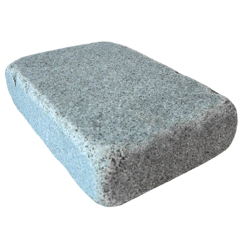 Dark Grey Tumbled Natural Granite Block Paving (140x210 Size) - Dark Grey
