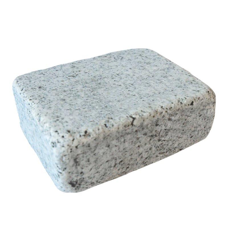 Light Grey Tumbled Natural Granite Block Paving (140x105 Size) - Light Grey