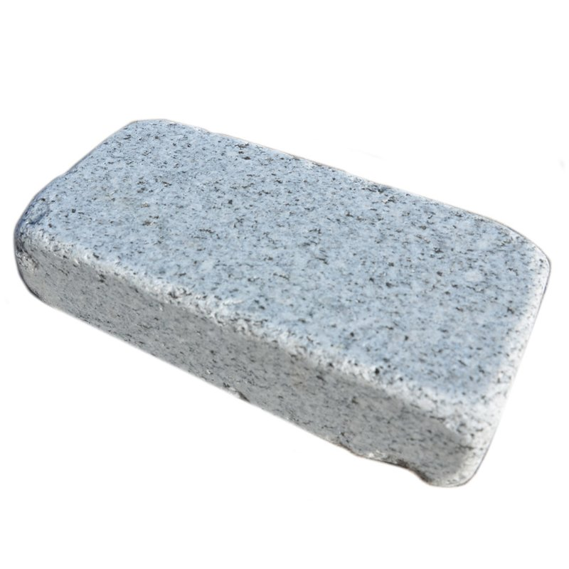 Light Grey Tumbled Natural Granite Block Paviors (200x100 Size) - Light Grey