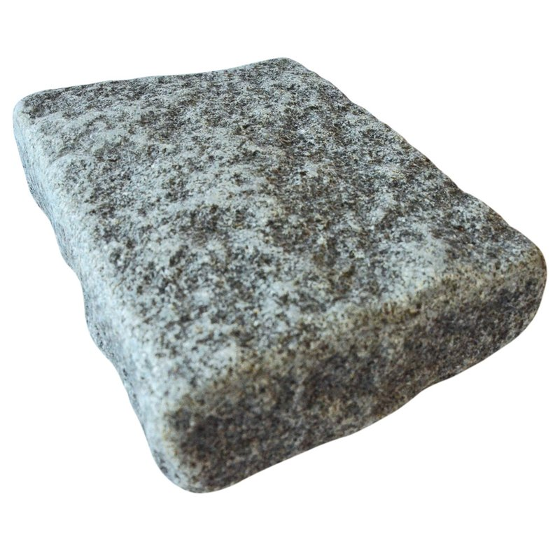 Dark Grey Cropped Natural Granite Block Paving (140x210 Size) - Dark Grey