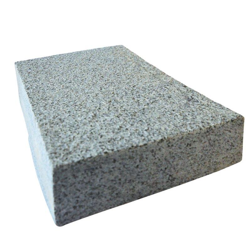 Dark Grey Sawn & Flamed Natural Granite Block Paving (150x200 Size) - Dark Grey
