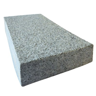 Dark Grey Sawn & Flamed Natural Granite Block Paving (150x250 Size)
