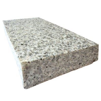 Light Grey Sawn & Flamed Natural Granite Block Paving (150x250 Size)