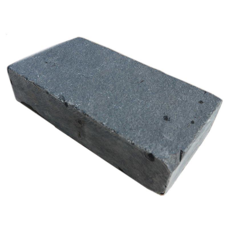 Kota Black Tumbled Natural Limestone Block Paviors (200x100 Size) - Kota Black