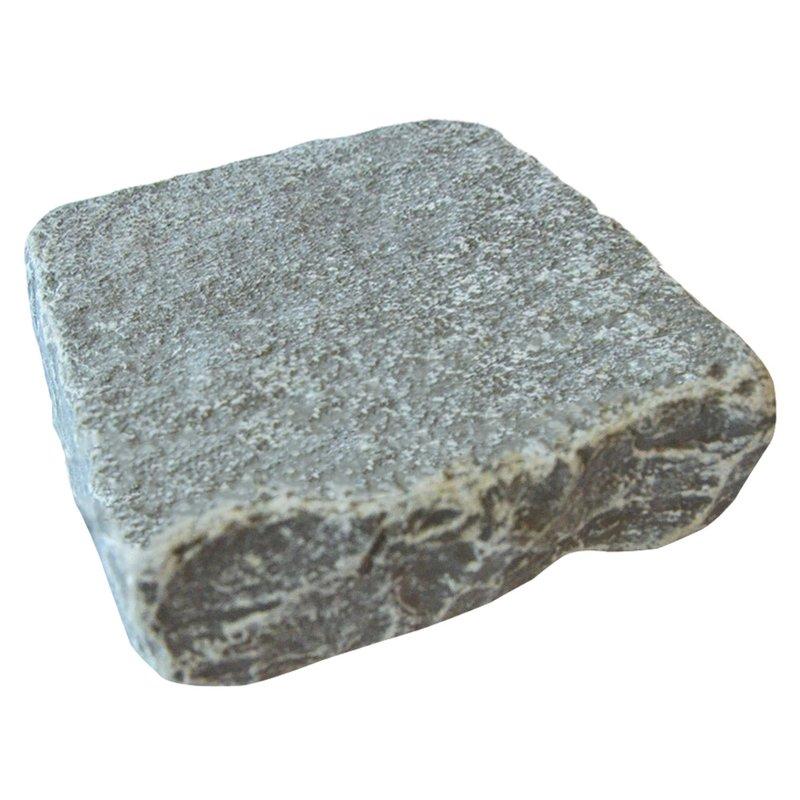 Graphite Cropped Natural Limestone Block Paving (150x150 Size) - Graphite