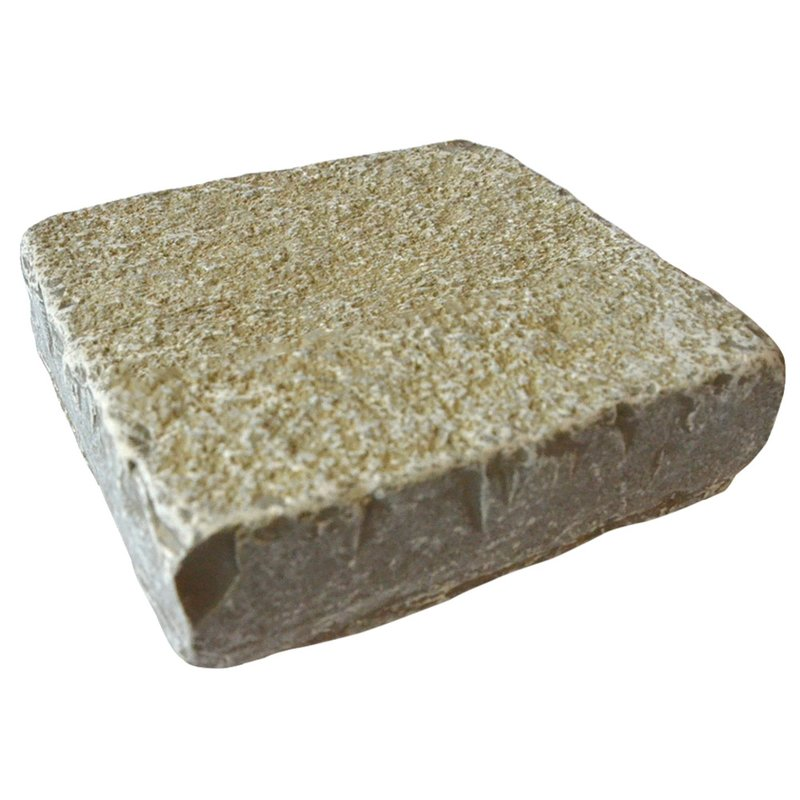 Kota Yellow Cropped Natural Limestone Block Paving (150x150 Size) - Kota Yellow