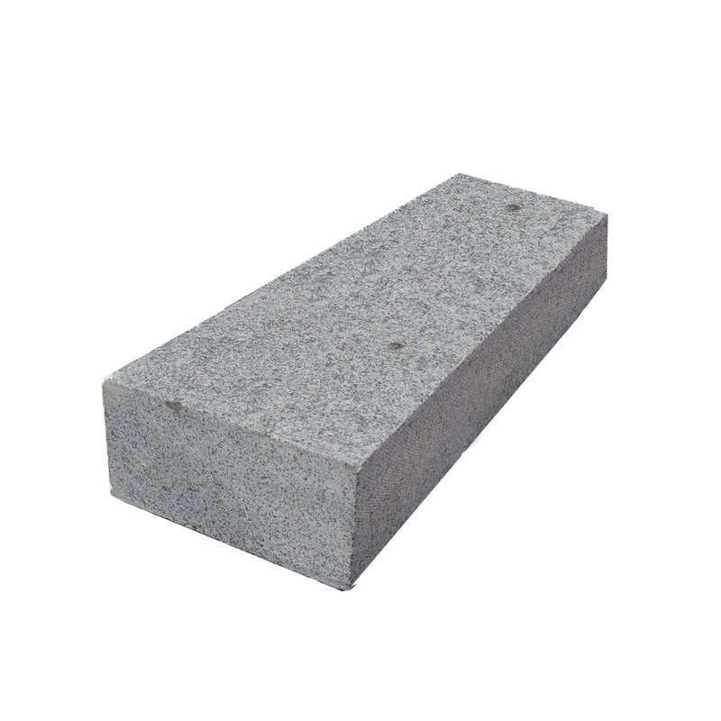 Dark Grey Sawn & Flamed Natural Granite Block Paving (200x100 Size) - Dark Grey