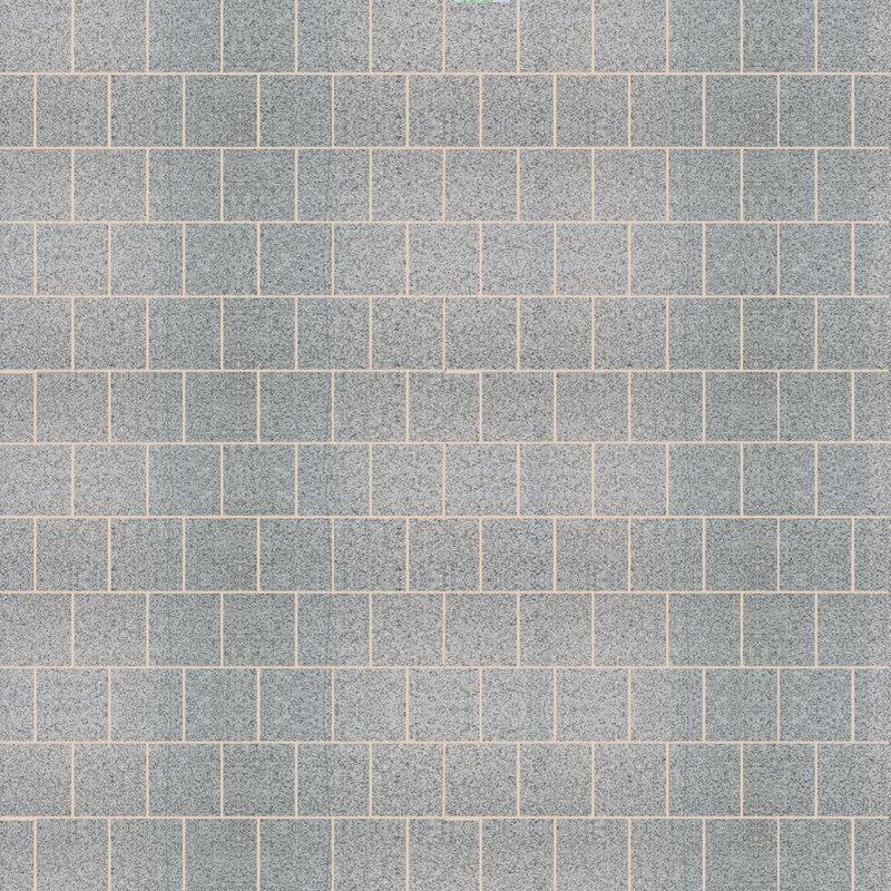 Light Grey Sawn & Flamed Natural Granite Paving (295x295 Packs) - Light Grey