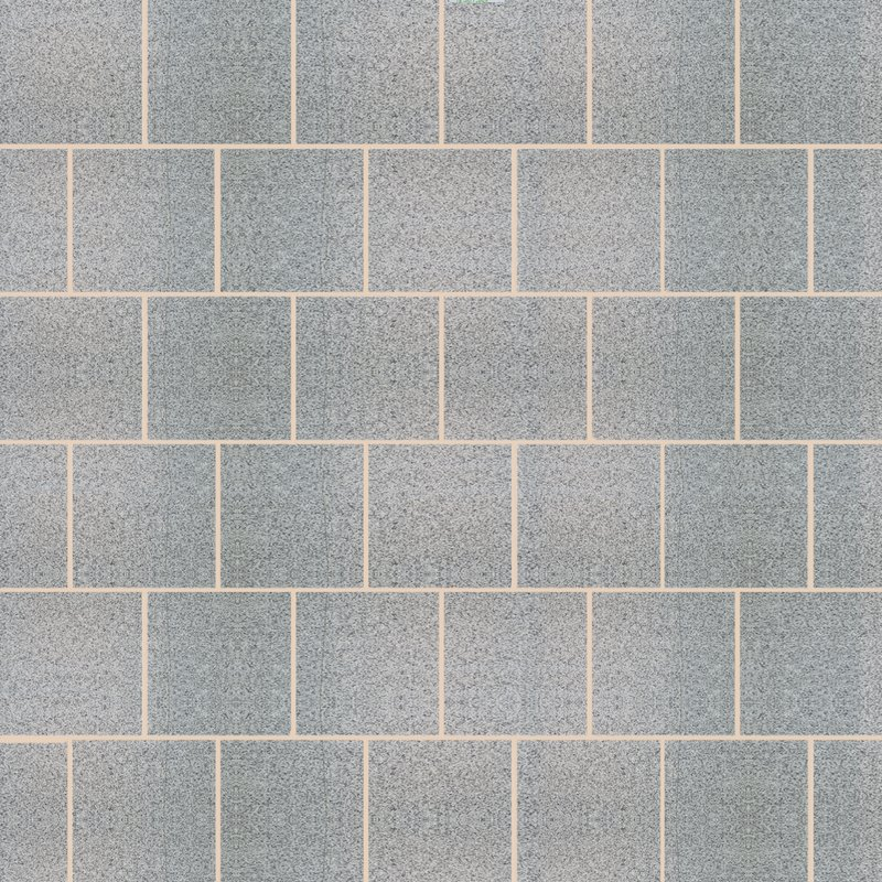 Light Grey Sawn & Flamed Natural Granite Paving (600x600 Packs) - Light Grey