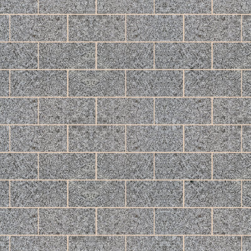 Moon Grey Sawn & Flamed Natural Granite Paving (600x295 Packs) - Light Grey