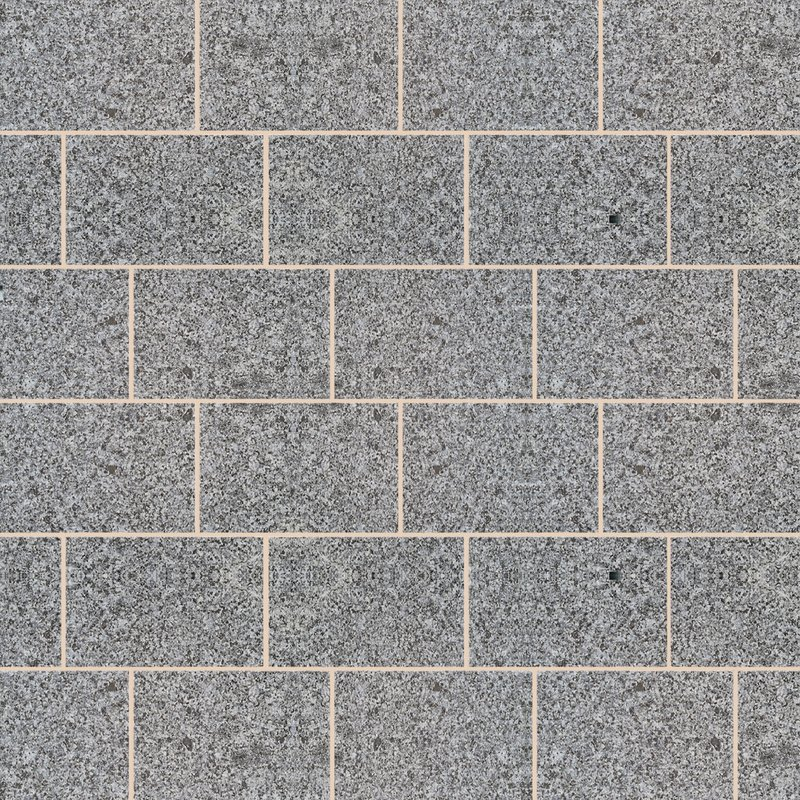 Moon Grey Sawn & Flamed Natural Granite Paving (900x600 Packs) - Light Grey
