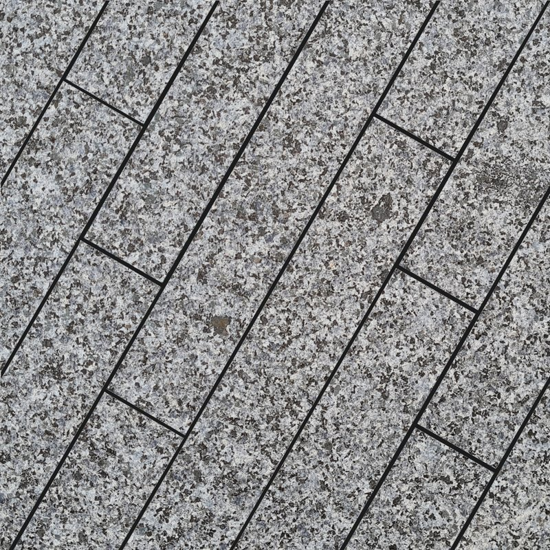 Moon Grey Sawn & Flamed Natural Granite Planks (900x150 Packs) - Light Grey