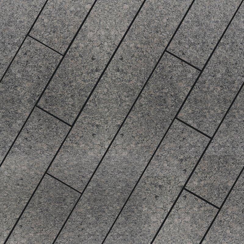 Emperor Black Sawn & Leathered Natural Granite Planks (900x150 Packs) - Black