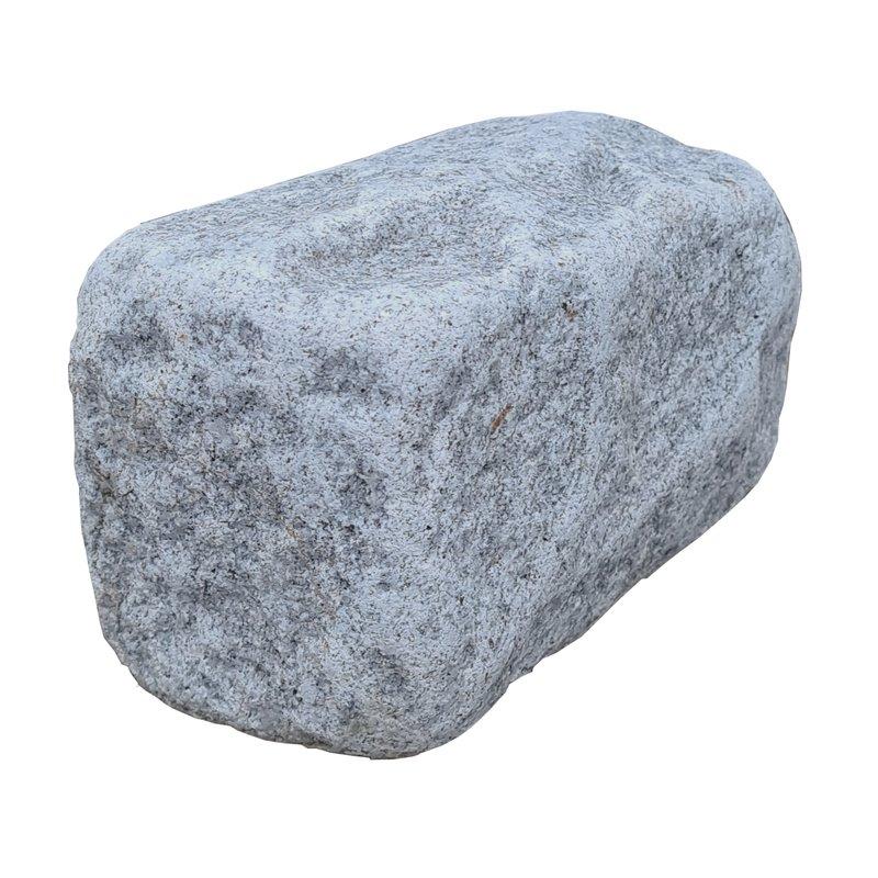 Dark Grey Sawn, Riven & Tumbled Natural Granite Walling (200x100 Packs) - Dark Grey