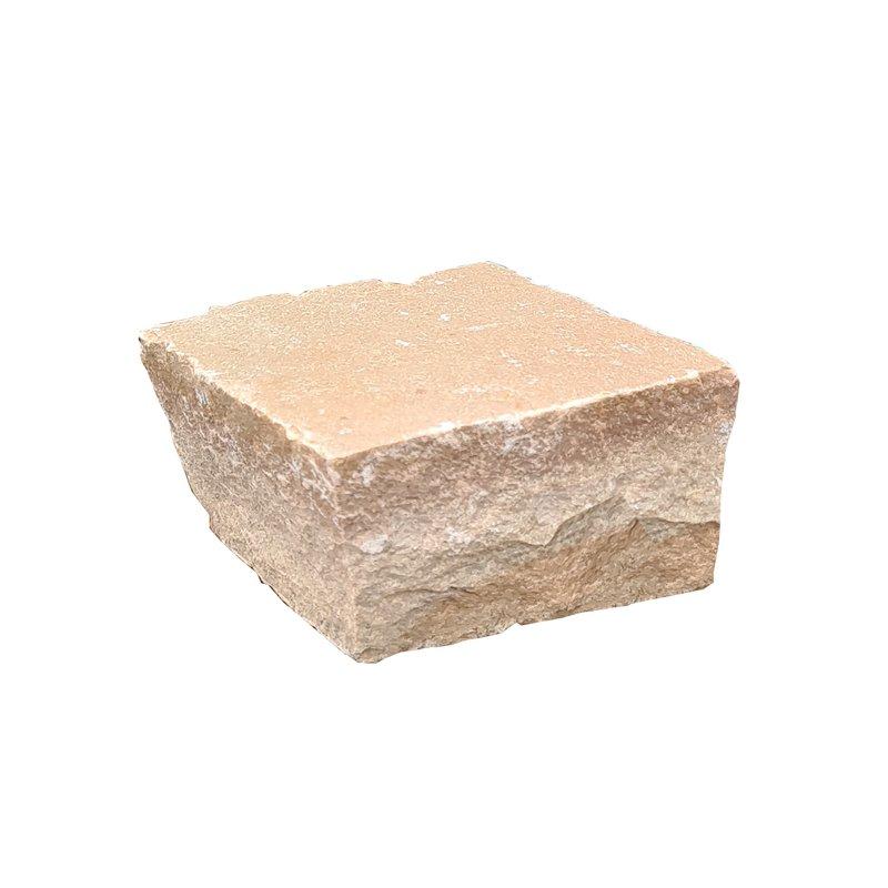 Buff Hand Cut Natural Sandstone Walling (100x100 Packs) - Buff