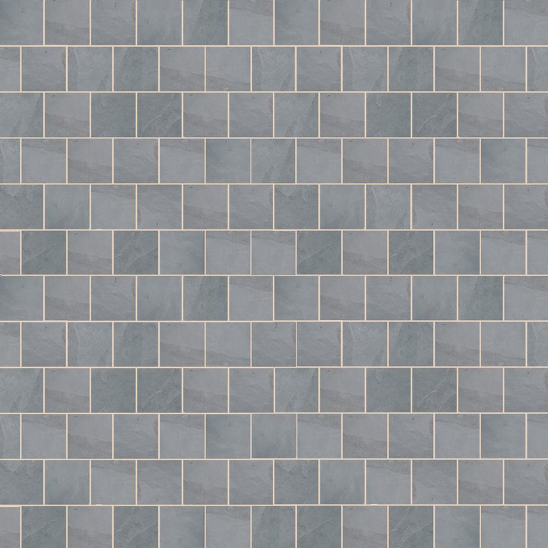 Brazilian Grey Sawn Natural Slate Paving (295x295 Packs) - Brazilian Grey