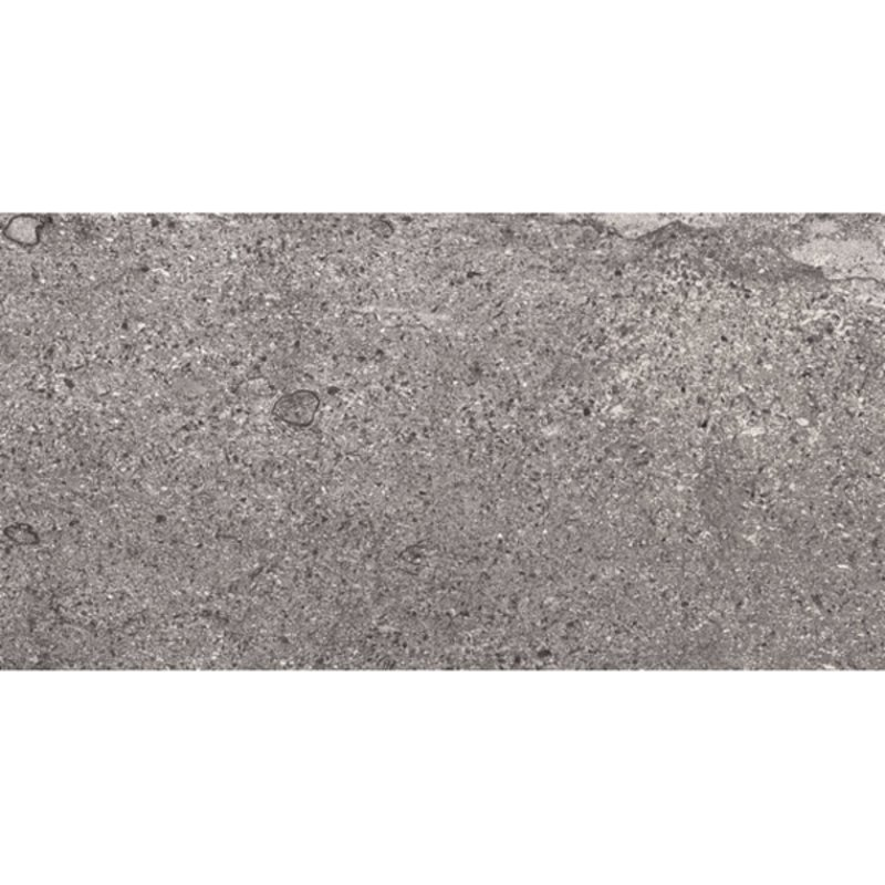Midnight Outdoor Porcelain Tiles - 1200x600 - Steel