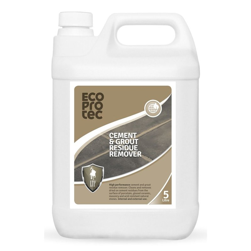 LTP Ecoprotec Cement, Grout & Salt Residue Remover - 5L - Clear